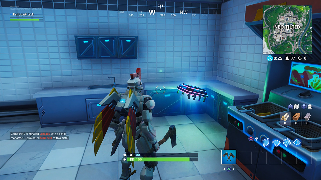 Fortnite Fortbyte 41 Accessible By Using Tomatohead