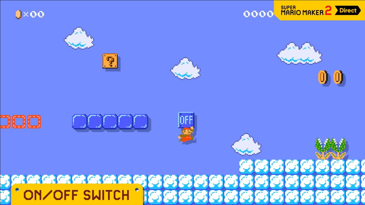 Super Mario Maker 2: How to Use On Off Switch - Attack of
