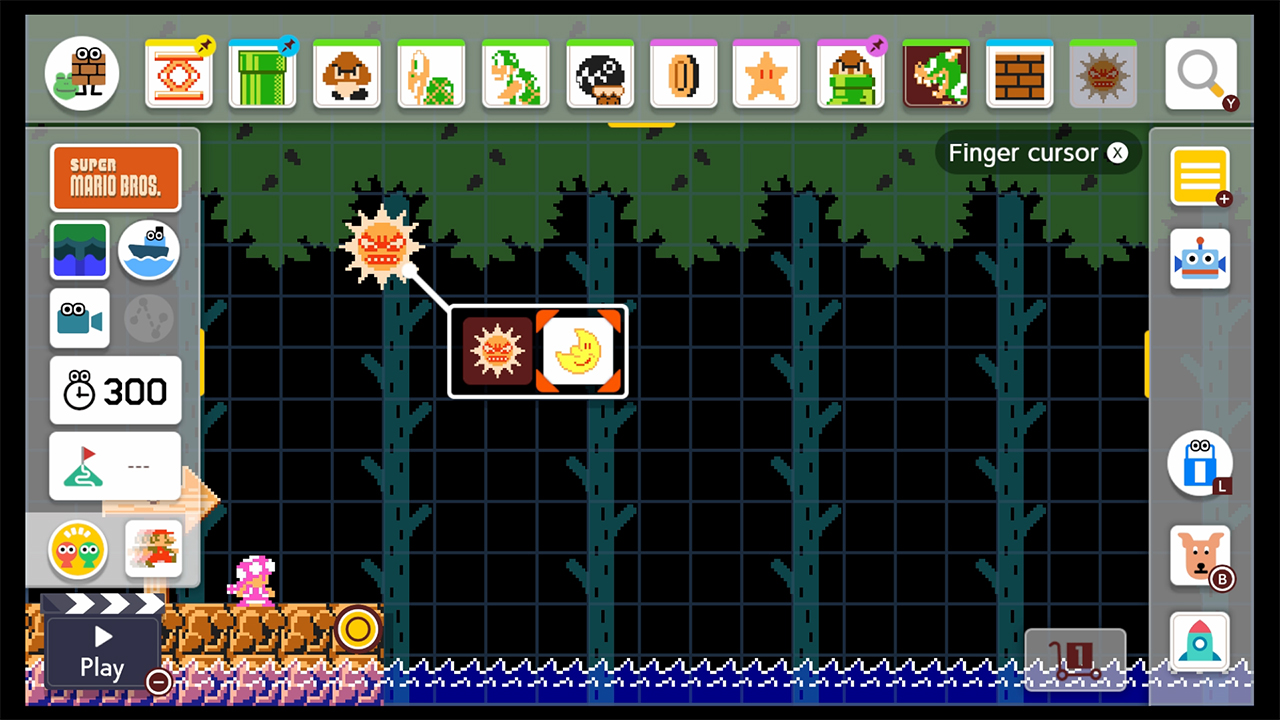 change-to-night-mario-maker-2