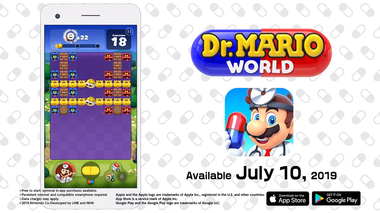 Dr  Mario World Launches This July for Mobile Platforms - Attack of