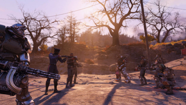 Fallout 76 Wastelands expansion and Nuclear Winter mode