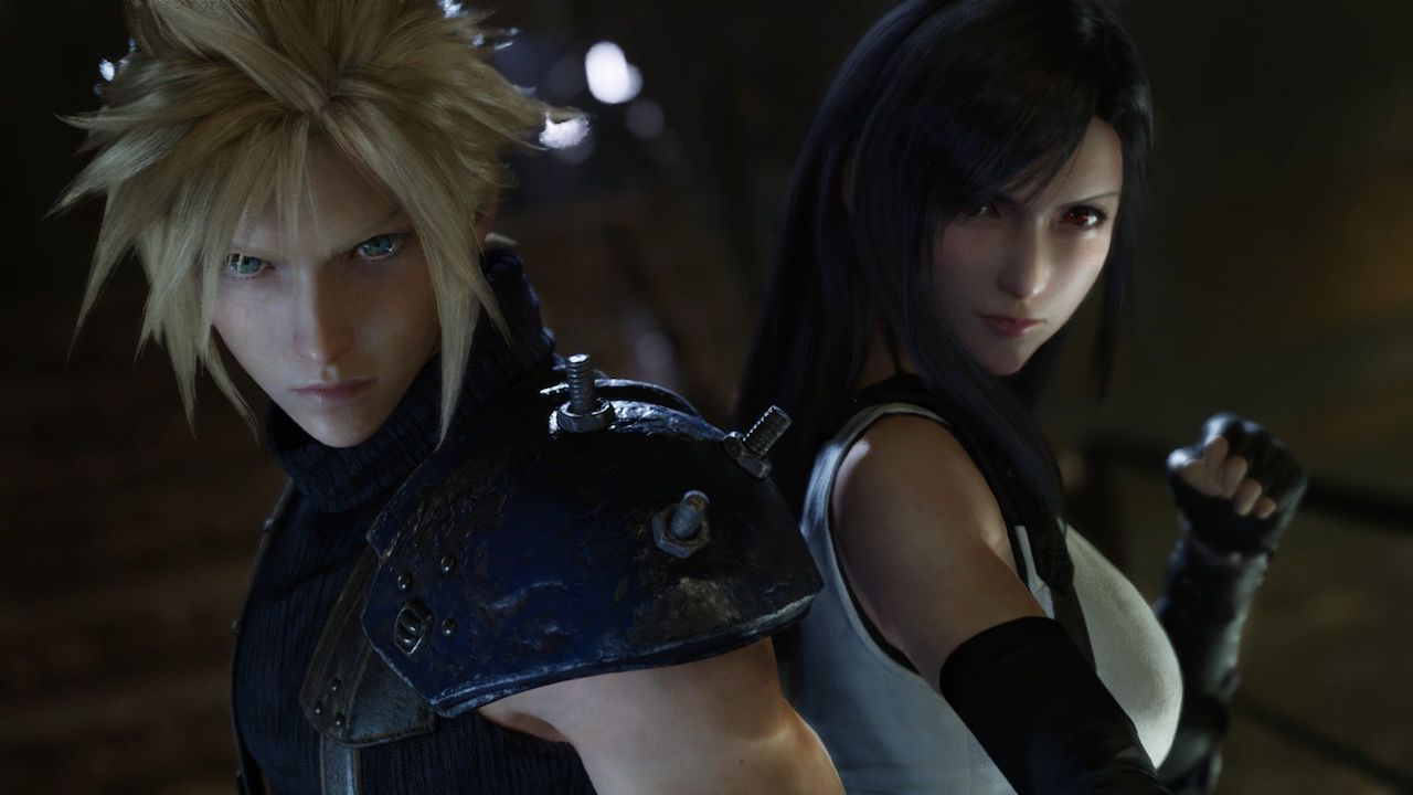 Final Fantasy 7 Remake Cloud and Tifa