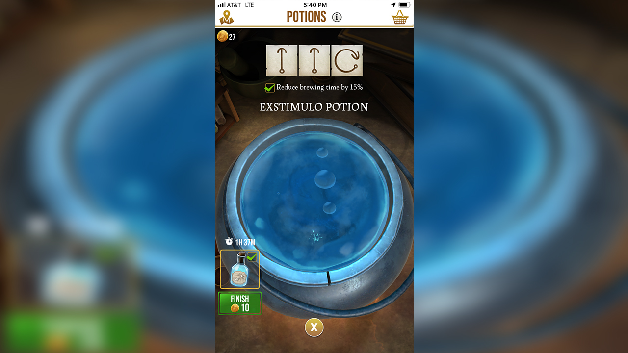 Harry Potter Wizards Unite How to Brew Potions Faster