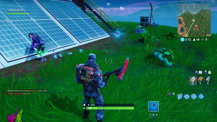 Fortnite Fortbyte 19 Accessible With The Vega Outfit Inside A