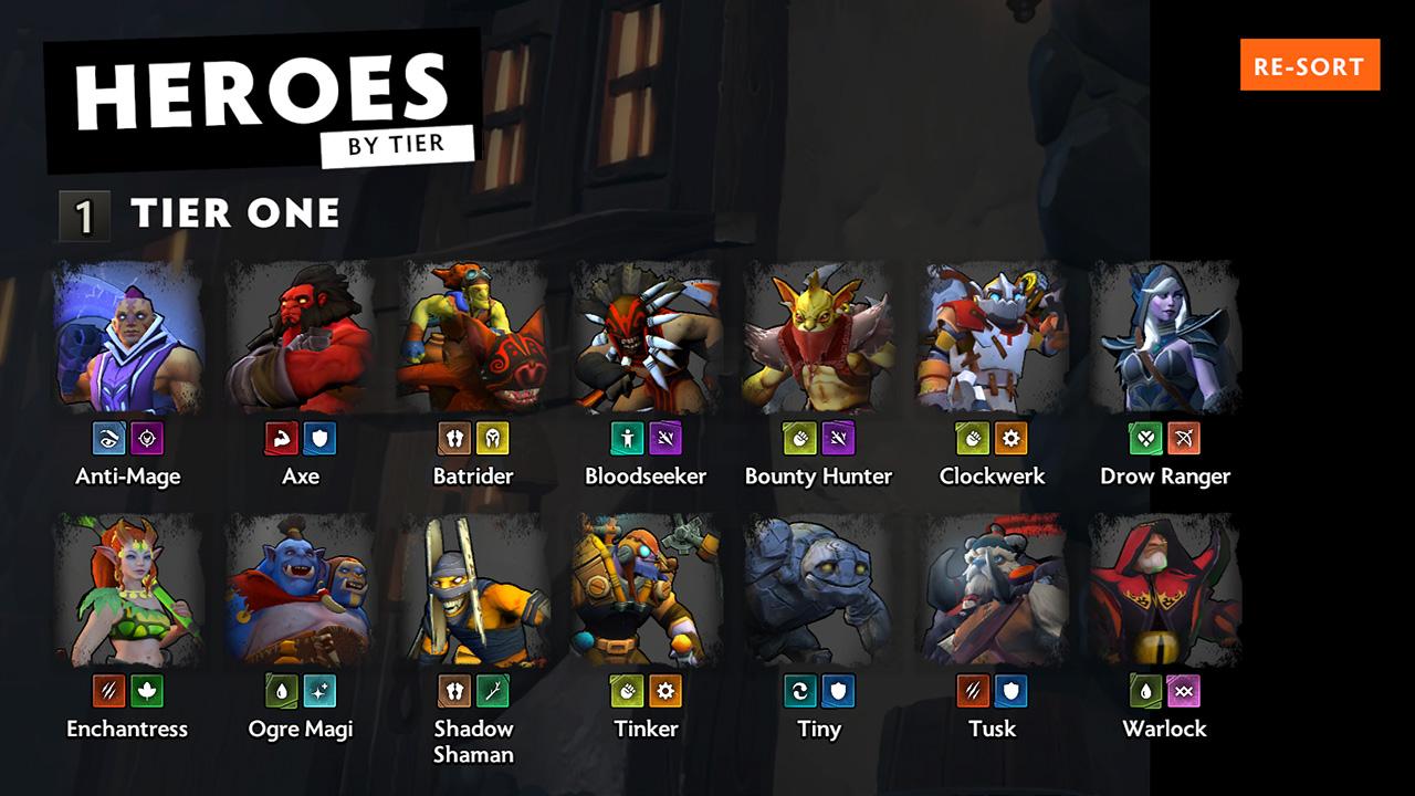 underlords heroes