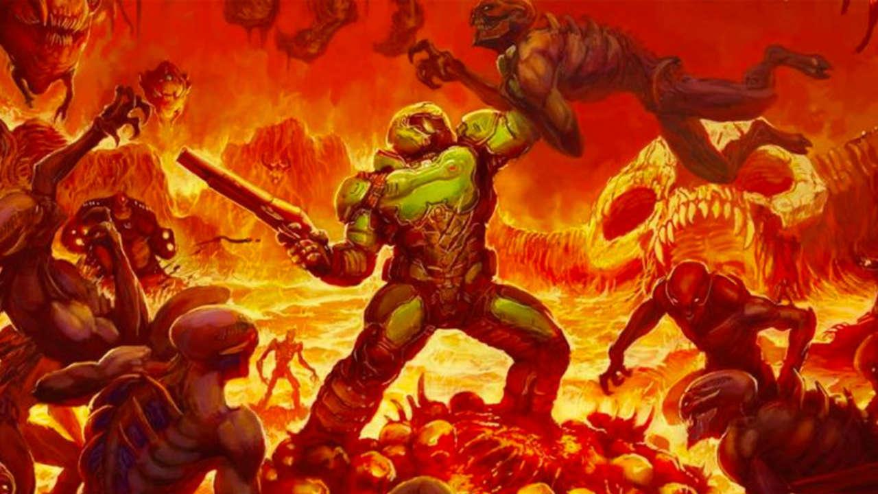 Doom Trilogy Key Art