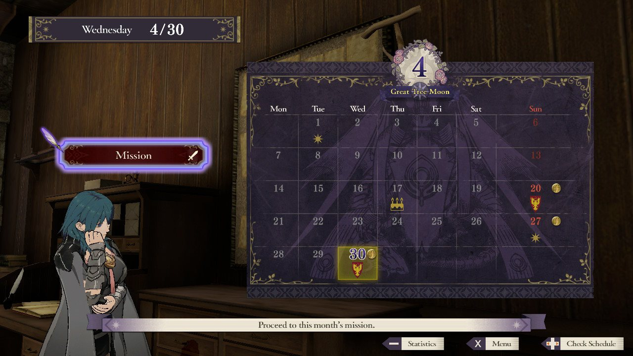 Fire-Emblem-Three-Houses-What-to-do-on-Days-off