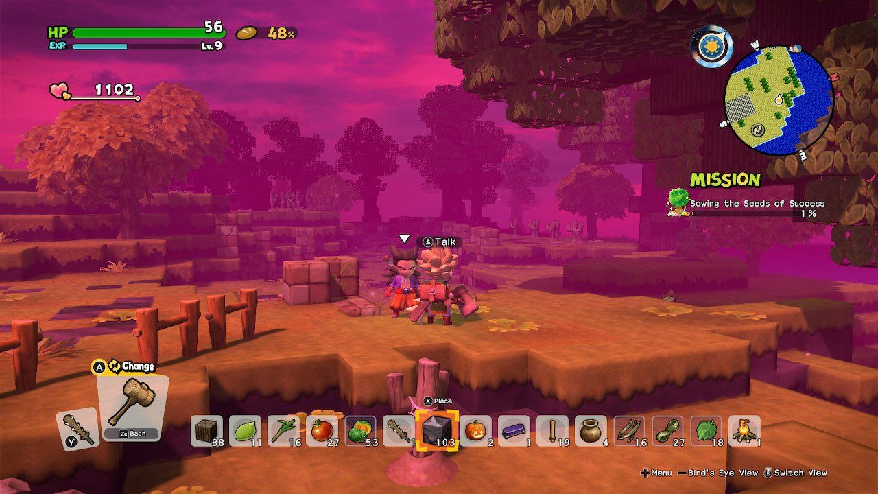 Dragon Quest Builders 2: How To Gain XP And Level Up Faster - Attack