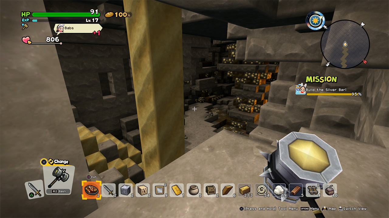 Dragon Quest Builders 2 How to Find Gold - Attack of the Fanboy