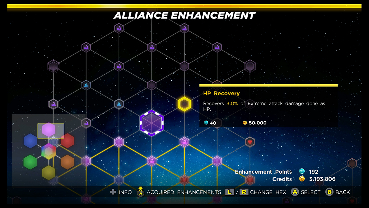 Marvel Ultimate Alliance 3 How to Get Enhancement Points