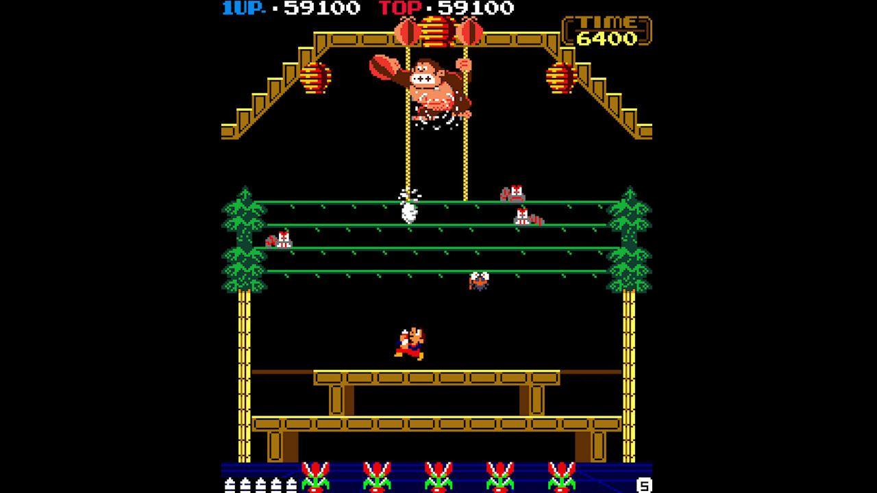Nintendo Switch Online Donkey Kong 3