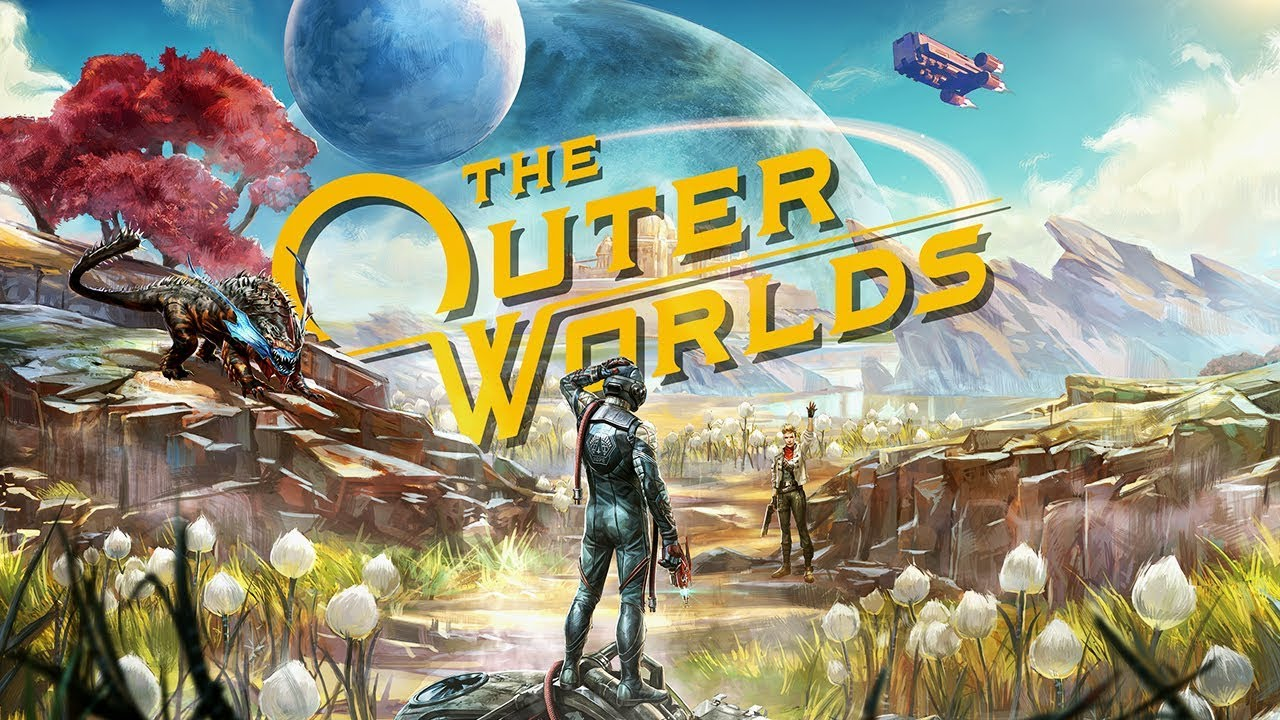 Outer Worlds Key Art