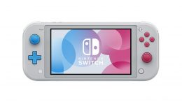 Nintendo Switch Lite Pokémon Sword and Shield Edition