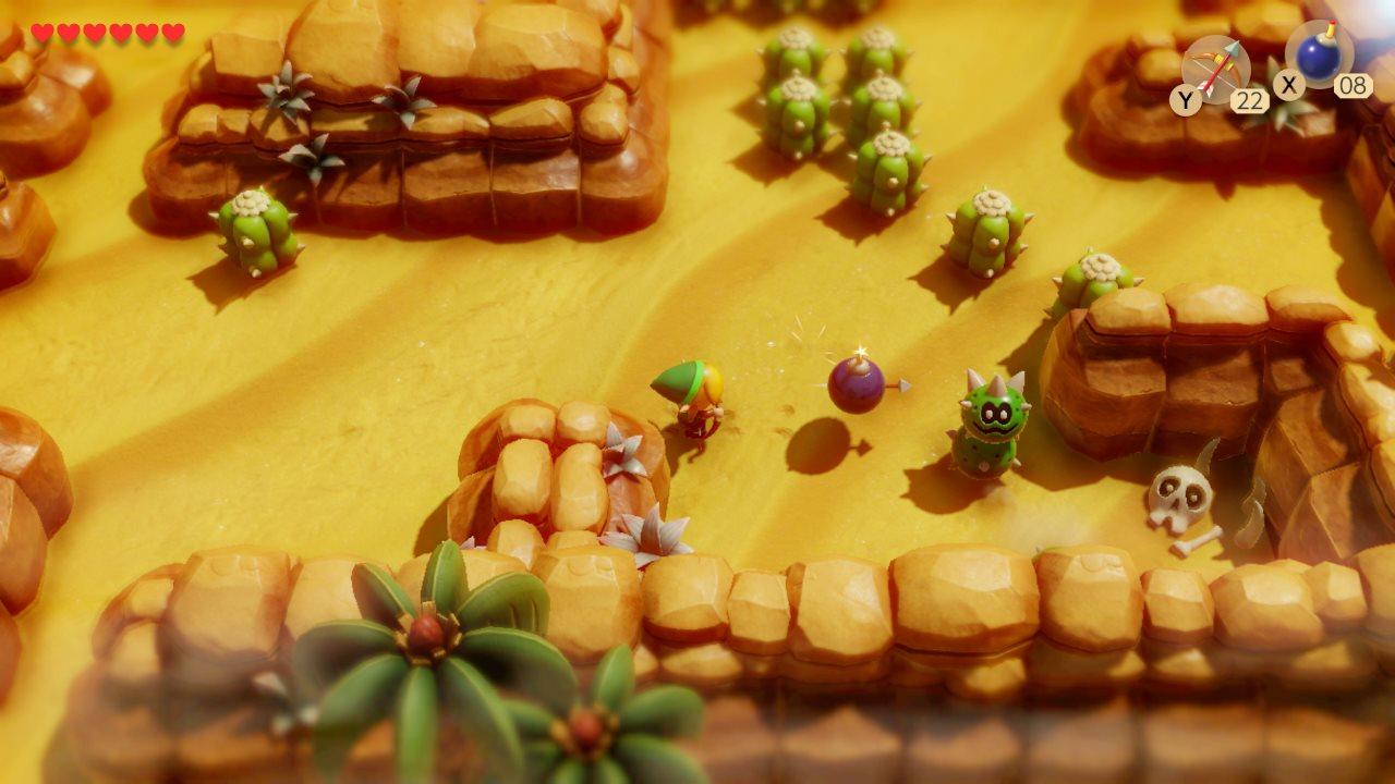 Legend Of Zelda Link S Awakening How To Get To The Desert