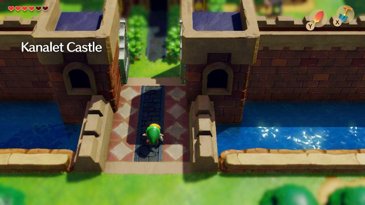 Links-Awakening-Kanalet-Castle-Walkthrough