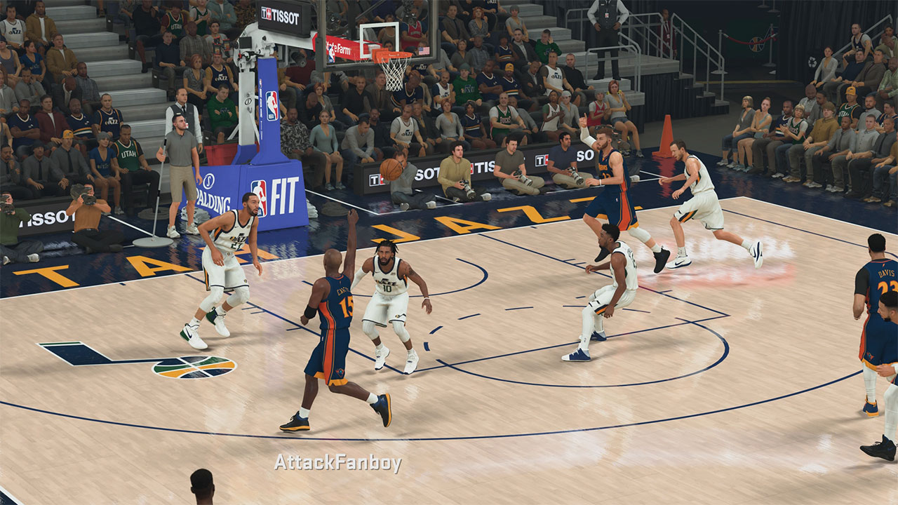 NBA 2K20 How to Alley Oop - At...