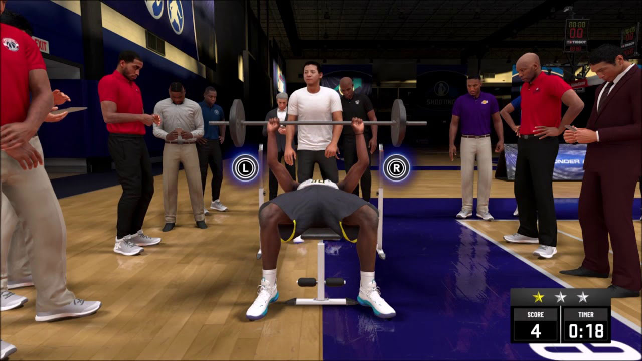 Enjoyable Nba 2K20 How To Bench Press Attack Of The Fanboy Gmtry Best Dining Table And Chair Ideas Images Gmtryco