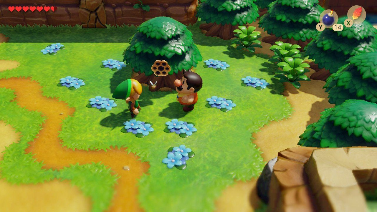 Legend Of Zelda Link S Awakening Where To Trade The Stick
