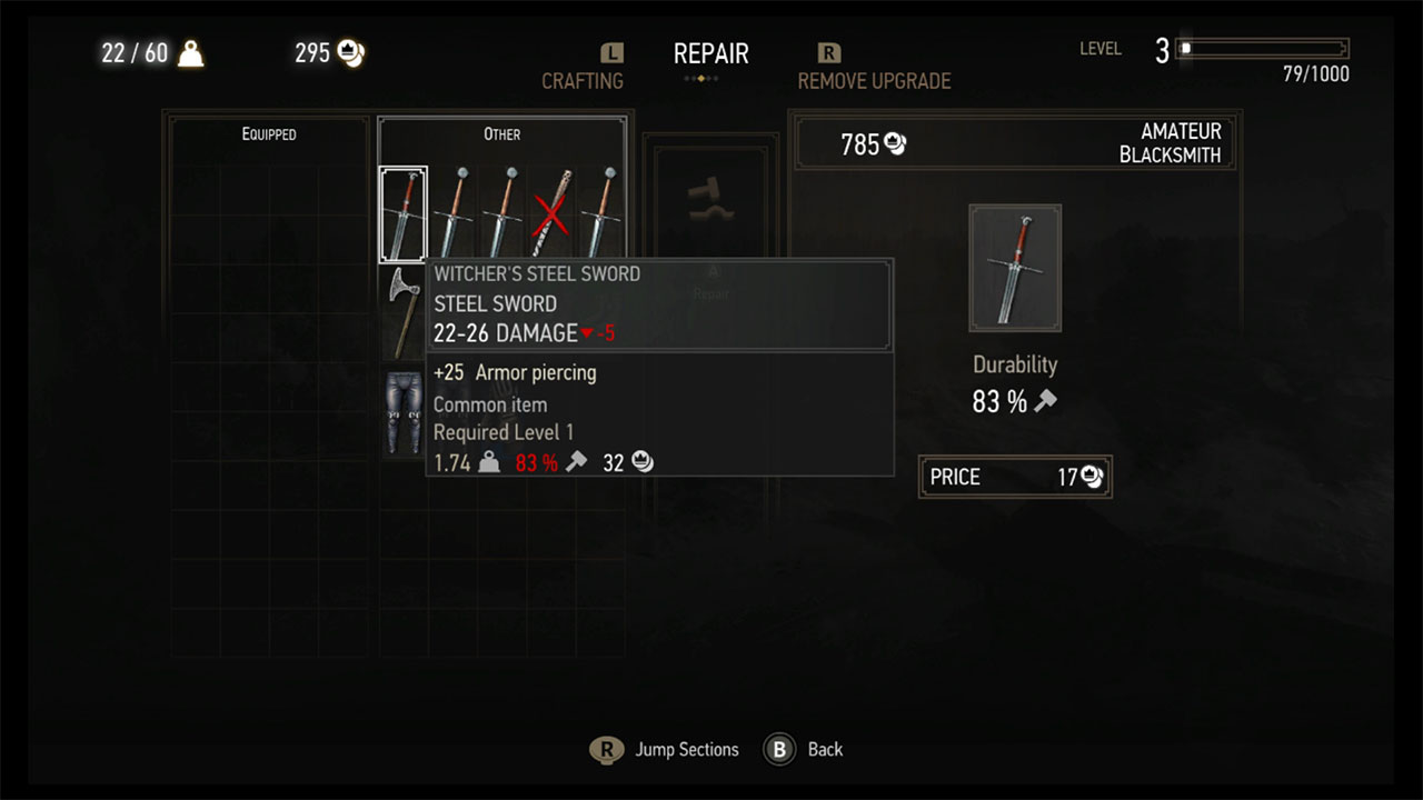 repair-weapons-witcher-3