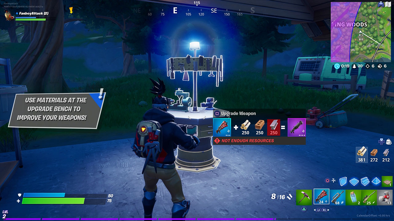 Fortnite How To Upgrade Weapons Attack Of The Fanboy