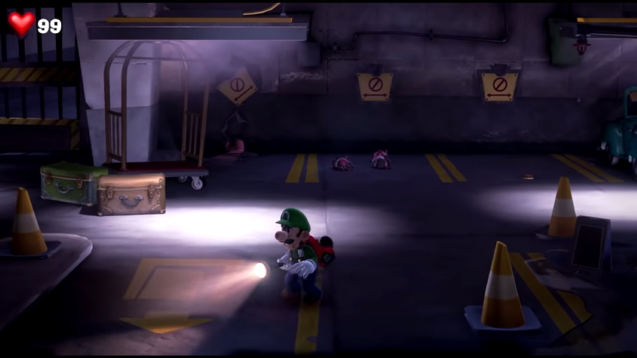 Luigi S Mansion 3 How To Get Out Of The Garage Attack Of