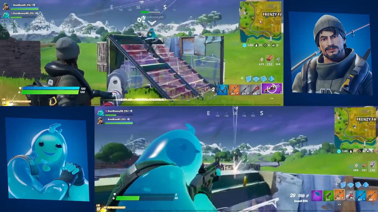 Fortnite - How to Play Split-Screen- Attack of the Fanboy