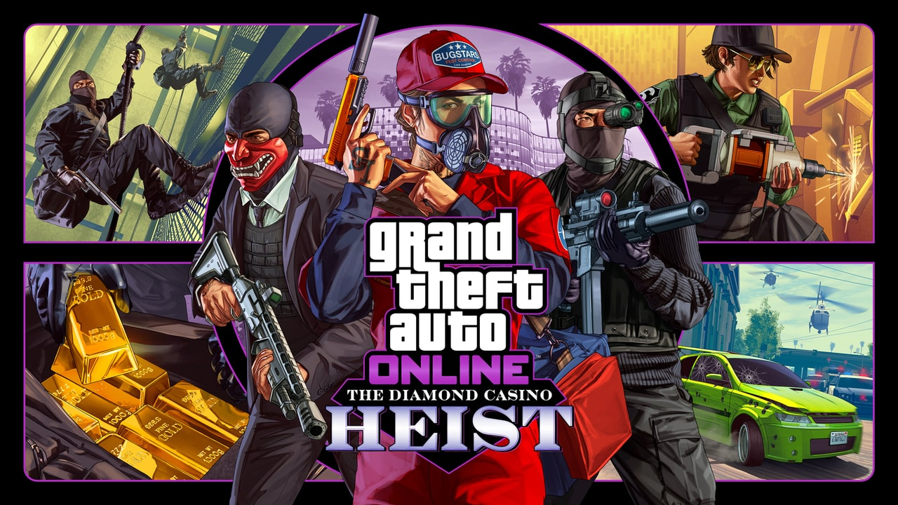 GTA Online gets more Heists DLC at the Diamond Resort and Casino
