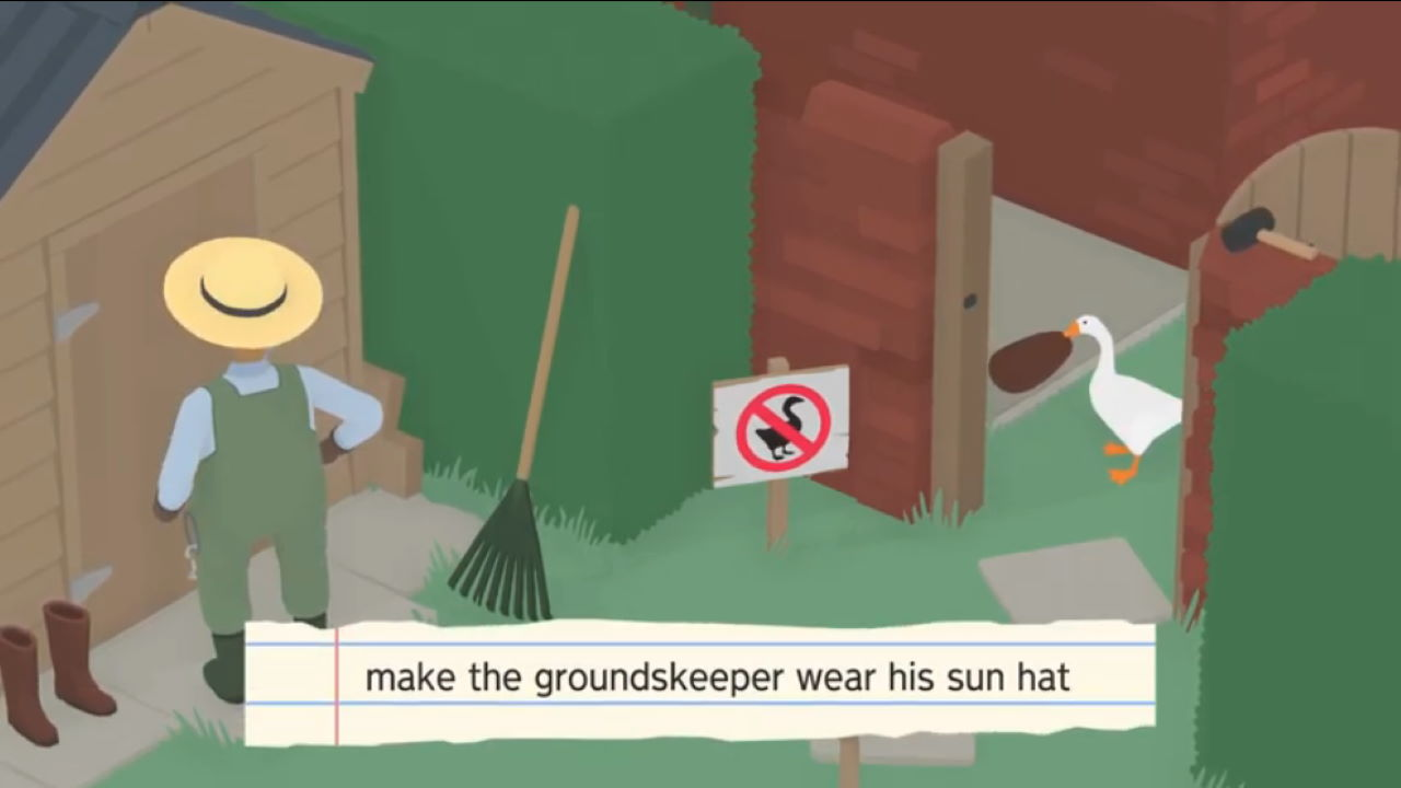 Untitled-Goose-Game-How-to-Get-Hat-Groundskeeper-to-Wear-the-Sun-Hat