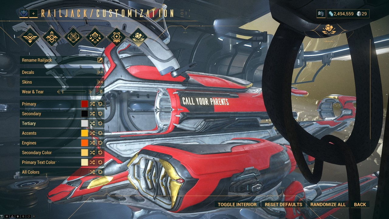 warframe-railjack-customization