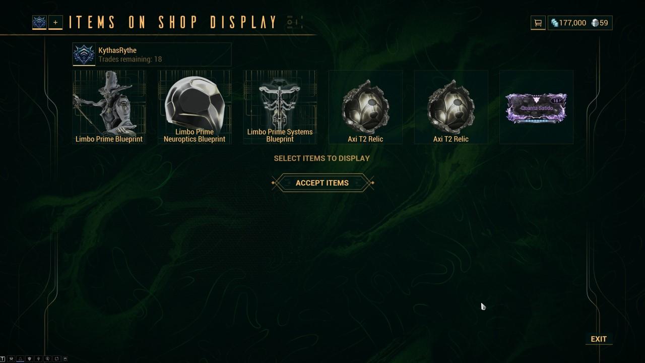 wrframe-trade-interface