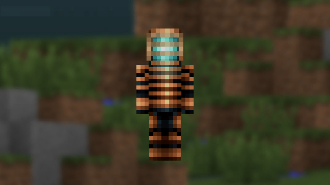 Minecraft-Dead-Space-Skin