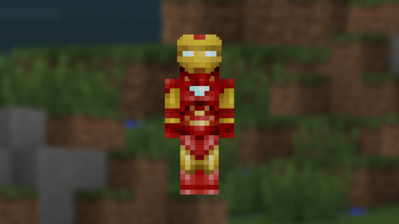 Minecraft-Iron-Man-Skin