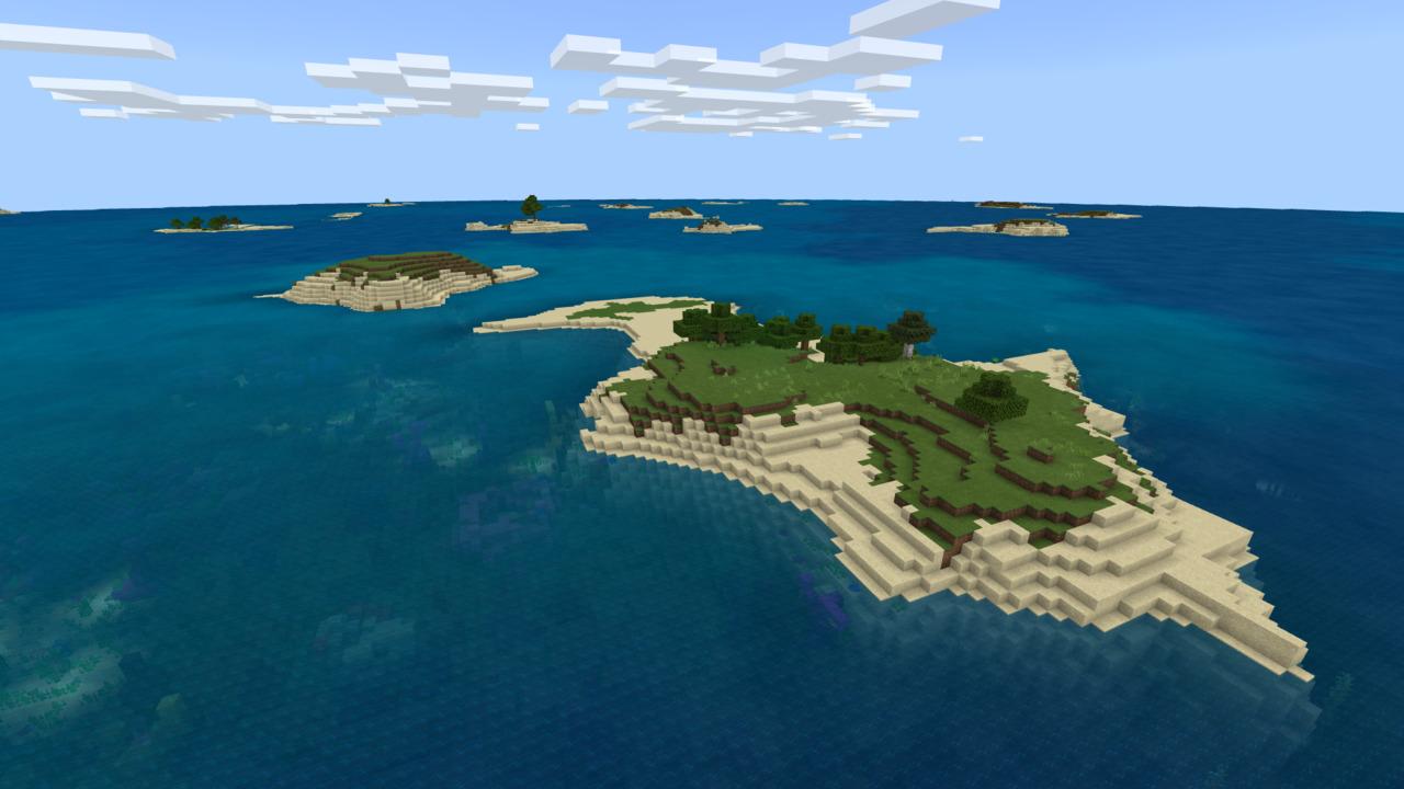 Minecraft-Islands