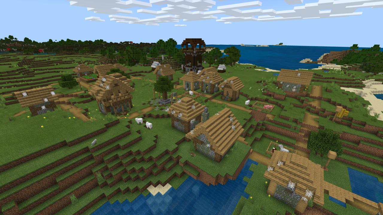 Minecraft-Pillaged-Village