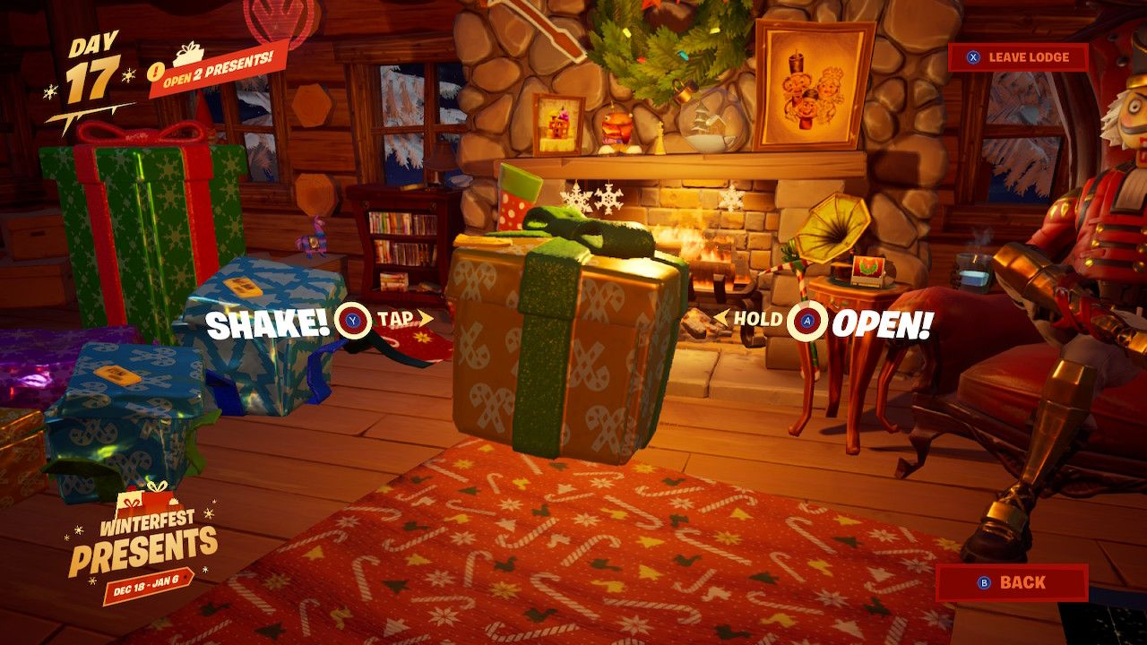 Fortnite How To Get All Winterfest Presents At Once Attack Of The Fanboy