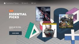 playstation store sale essential picks screenshot