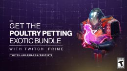 twitch prime rewards loot drop destiny 2 poultry petting bundle