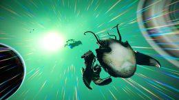 The Living Ship Creeps Into No Man's Sky