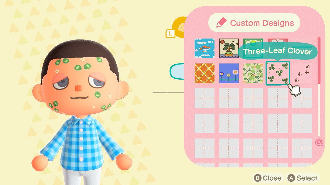 Animal Crossing New Horizons How To Remove Face Paint Attack