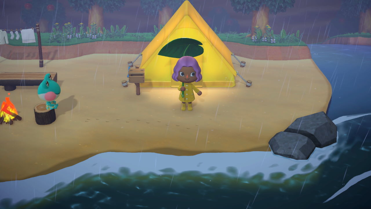Animal Crossing New Horizons How To Turn Lights On And