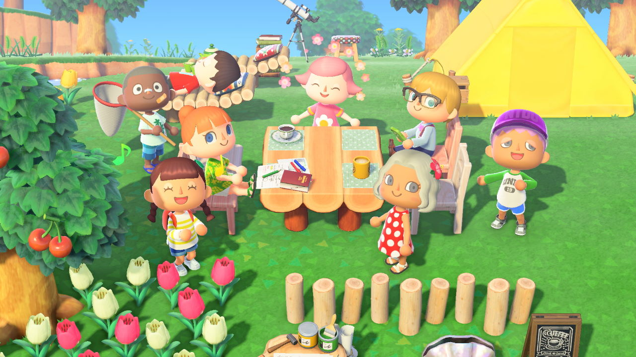 Animal Crossing: New Horizons – What to do with Friends- Attack of ...