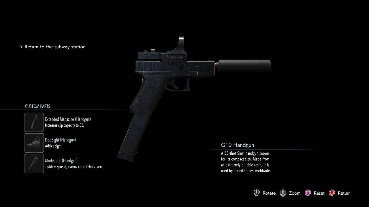 Resident-Evil-3-All-Handgun-Attachments
