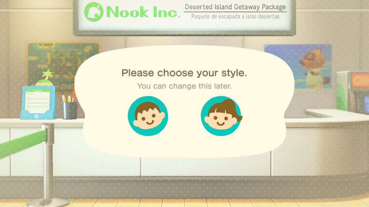 Animal Crossing New Horizons Can You Change Gender Attack Of The Fanboy