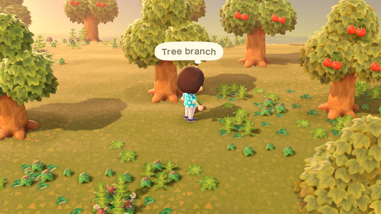 Animal Crossing New Horizons How To Pick Up Items Attack Of