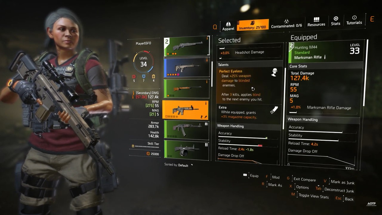 division-2-weapon-talents