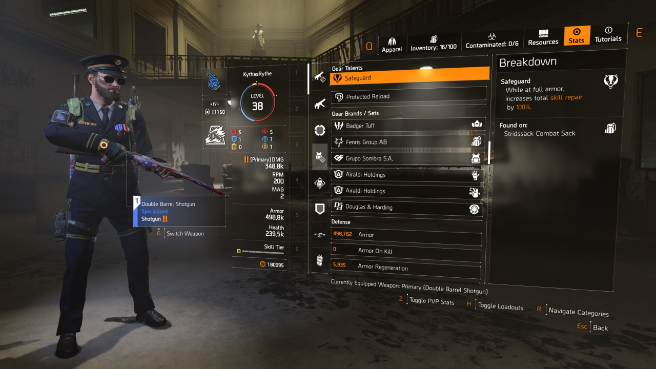 The Division 2 Gear Talents List For Warlords Of New York Attack Of The Fanboy