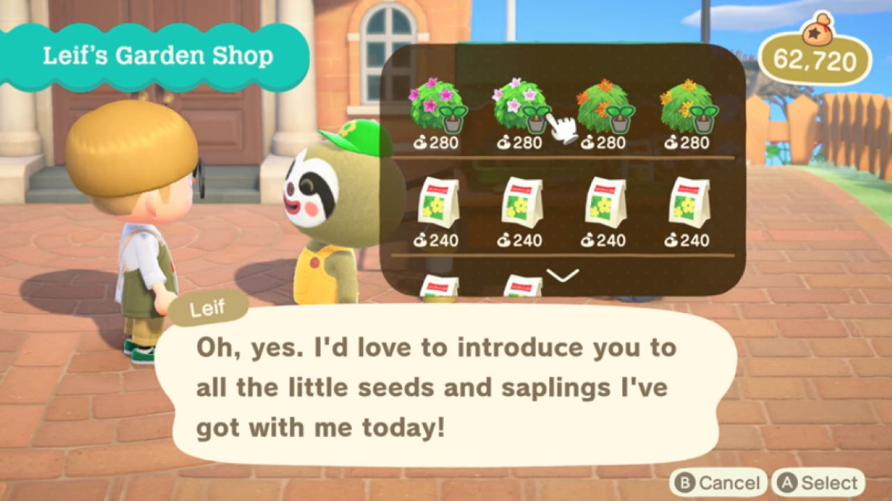 Animal Crossing New Horizons How To Get Bushes And How To Plant
