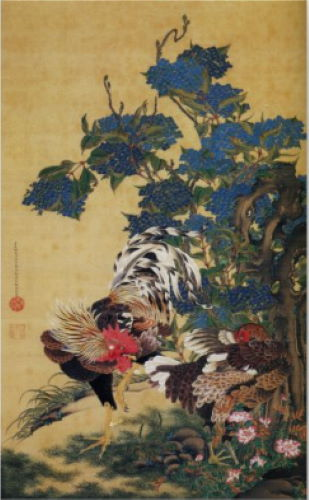 Animal-Crossing-New-Horizons-Art-Guide-Rooster-Painting