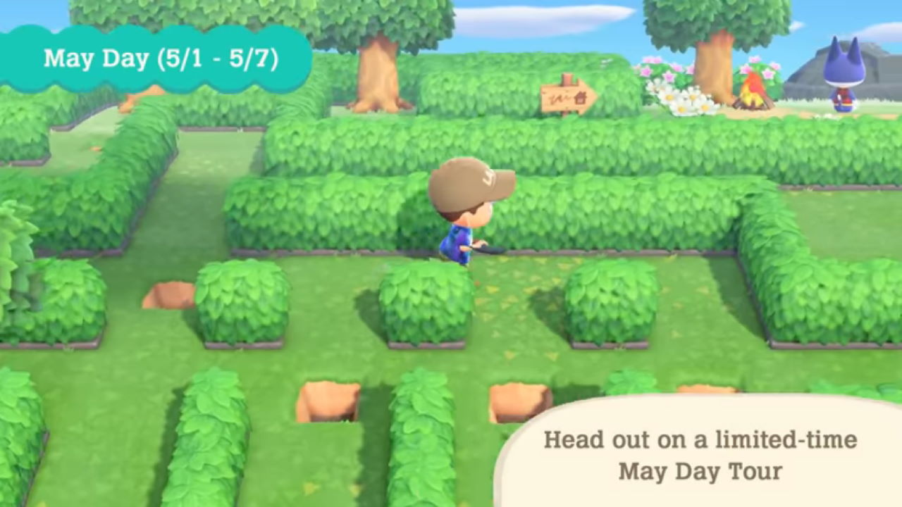 Animal-Crossing-New-Horizons-May-Day-Guide-How-to-Get-Through-the-Maze