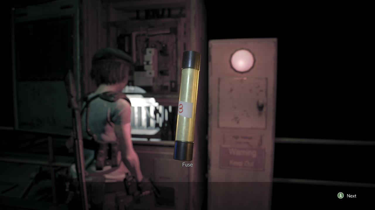 Resident-Evil-3-Guide-Hunt-for-the-Fuses-Walkthrough